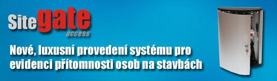 Přístupový systém pro stavby SITEgate