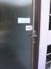 realizace: bytovy dum. COP v bezkontaktním provedení pro instalaci na sklo s drátěným výpletem